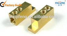 brass metallic part