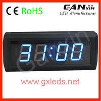 alibaba ganxin 1.8 inch 4 digit remote control led countdown clock