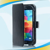 Durable and beautiful design pu leather cover wallet case for samsung s4 mini