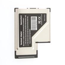 USB 3.0 Intel PCI-e Express Network Card Expresscard Adapter 54mm
