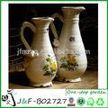 Decorative indoor ceramic cup shape italian vases