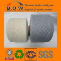 reciclagem de mistura de fios de algodão de reciclagem com chinelo de borracha