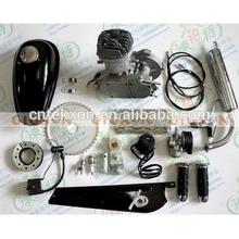 Gas Motorized Bicycle 2-Stroke T80 40+MPH Silver 80cc Motor Bike Engine Kit