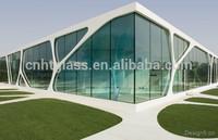 china supplier energy saving low-e glass sunroom