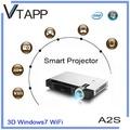 Vtapp a2s 2014 alta- producto de tecnología windows proyector inalámbrico precio de computadora portátil en china