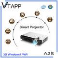 Vtapp a2s 2014 alta- producto de tecnología windows proyector inalámbrico portátil bolsas mochila