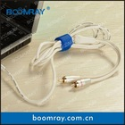 factory direct sales high quanlity colorful magic nylon soft cable strap silicone tie wrap