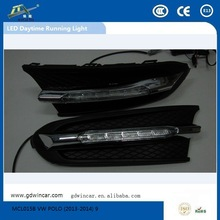2011-2013 12VHigh quality flexible super shockproof LED running lights fit for VW POLO Led day light
