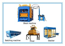 QT4-15 pan mixer pave making machine for sale price in india brick block machine