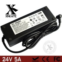 24v 5a power supply 120W switch power supply full power factory wholesale