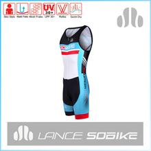 Lance sobike personalizado masculino ternos triathlon