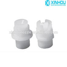 Flat fan water plastic nozzle
