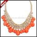africano de moda collar declaración caliente venta real collar de perlas precio