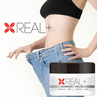 Solving fat on legs, hep and belly, use Real Plus slimming cream
