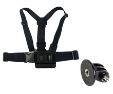 go pro accessories australia : A model chest band with tripod mount, for Go Pro He ro3+/3/2/1