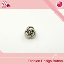 flower shape rhinestone button for wholesale sewing accessories