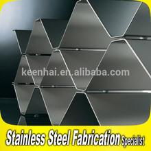 Hotel KTV Bar Stainless Steel Wine Display Shelf Rack