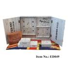 ED049 white wooden with door Eyewear Display Box