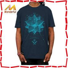 Wholesale high quality ad fashion clothing custom mens tee shirt, mens screen printing tshirt