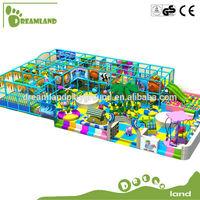 European standard daycare indoor big kids playground equipment
