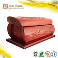Bela madeira caixão ornamento