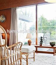 window film sliding glass doors/horizontal sliding window screen/sliding window iron grill