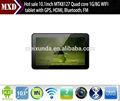 Alibaba expressar tablet 10.1 polegadas mtk8127 quad core tablet pc 1g/8g 1024*800 resolução com wifi, bluetooth, hdmi, gps, fm