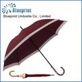 27 '' reta alça de bambu guarda-chuva em estilo japonês