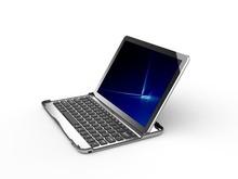 Wireless Bluetooth Keyboard Aluminum Stand Case for Samsung Galaxy Tab 10.1 P7510 P7500,Ultra Slim