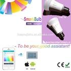 Discount 2014 wholesale like Philips hue bulb smart zigbee led light bulb 7w 500ml 90ml/w AC85-265v
