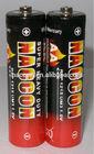 R6P/AA/UM3 Carbon zinc battery; PVC/ Metal Jacket