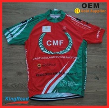 Cycling Wear Sportswear Type and OEM/custom Service Supply Type sublimation racing cycling jersey