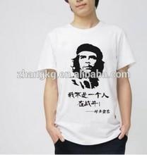 Custom design printed mans t shirt ,promotional custom logo mens tee shirts
