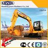 5.8*2.7*2.0m size 6.2ton 0.22m3 bucket FR65V8 dozer blade excavator