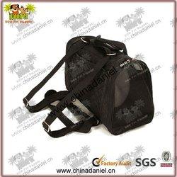 Good quality black pet pocket dog carrier