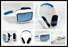 Cheap price OEM headset over ear stereo headphone phone for promotion