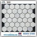 Mármore calacata hexagon mosaico/mármore calacata branco preço/qualidade superior calacata itay do