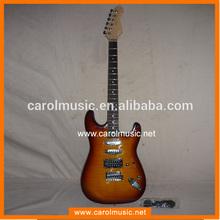 est039 venta caliente sunburst guitarra eléctrica