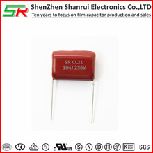 CL21 capacitors with DC and Low Pulse Circuit 104j 250v &0.1uf 250V