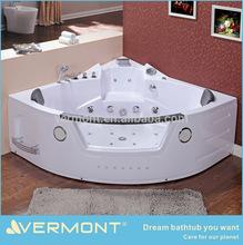 High quality jacu function corner massage bathtub