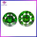 High quality round brilliant cut emerald zirconia stone price