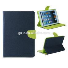 Fashion Mercury Goospery Leather Fancy Diary Wallet Flip Case For iPad mini