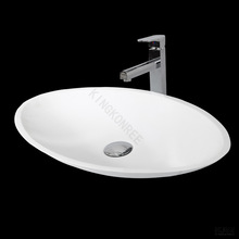 Small modified acylic solid surface basin