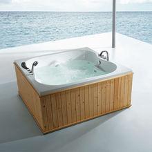 FC-WD01 Wooden bathtub, fico new wooden bathtub,bathtub with seat