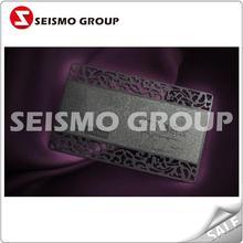 matt finishing metal card stainless steel original color metal cards