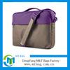 New fashion 14 inch waxed canvas laptop bag canvas messenger bag