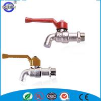 cast brass sandblasted sanwa bibcock valve without nozzle