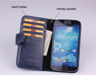 mobile phone accessories for samsung galaxy s4 genuine mobile leather case for i9500