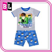 Hot Selling children short clothing sets Ben 10 wholesale