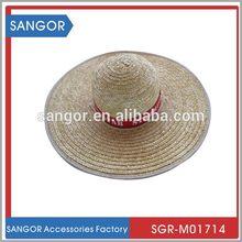 Top grade original fashion children paper straw hat